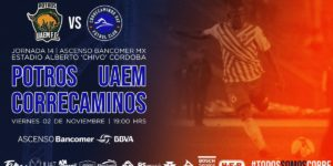 Partido Potros UAEM vs Correcaminos 2018 Ascenso MX
