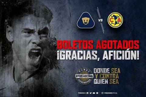 En que canal juega Pumas vs América Semifinal 2018 previo U.N.A.M. U.A.N.L.