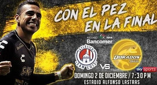 Final Atlético San Luis vs Dorados en Vivo 2018 Ascenso MX