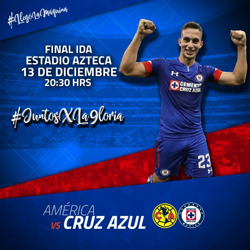 TDN América vs Cruz Azul en Vivo final 2018 Liga MX