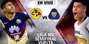 TDN en vivo América vs Pumas Vuelta Liga MX 2018